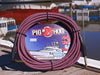 "Pig Hog ""Riviera Purple"" Instrument Cable, 20ft Right Angle"