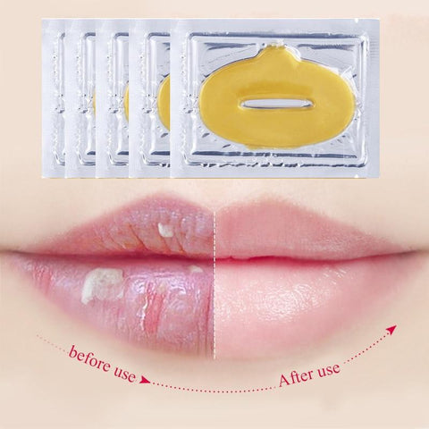 Collagen Gold Gel Lip Mask (5 Count)
