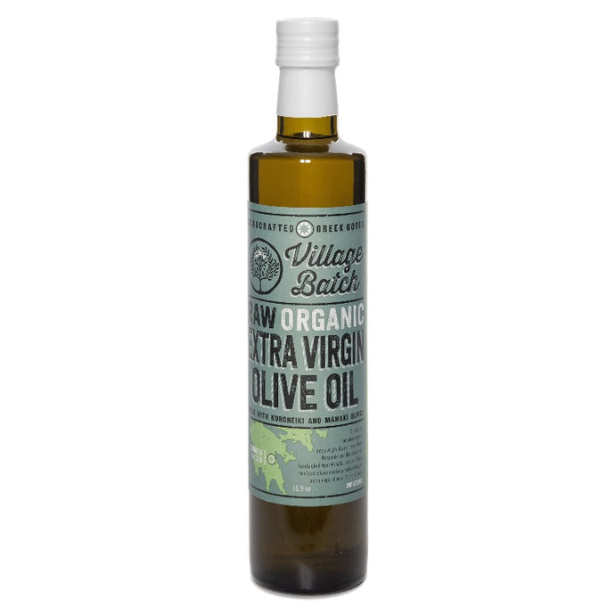 Raw Organic Extra Virgin Olive Oil