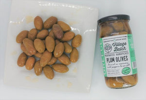 Greek Plum Olives Marinated