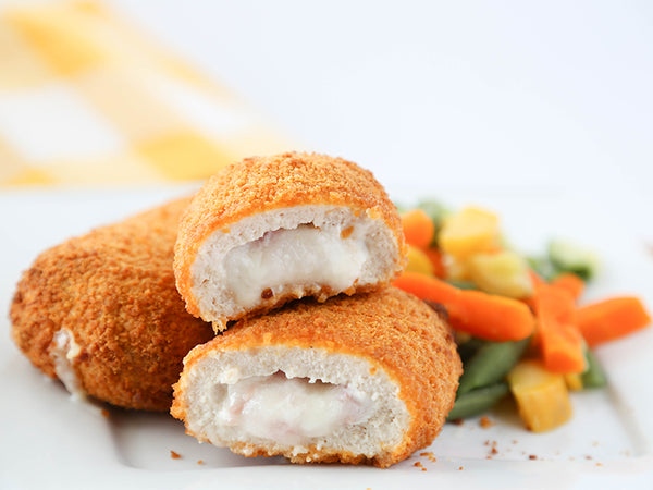Chicken Cordon Bleu (Canadian Bacon and Swiss)