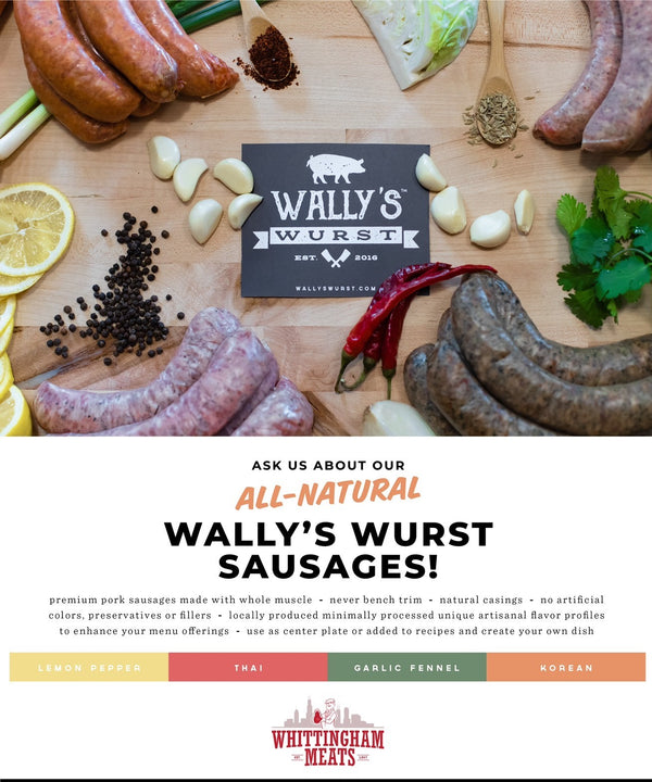 Wally's Wurst Sausages