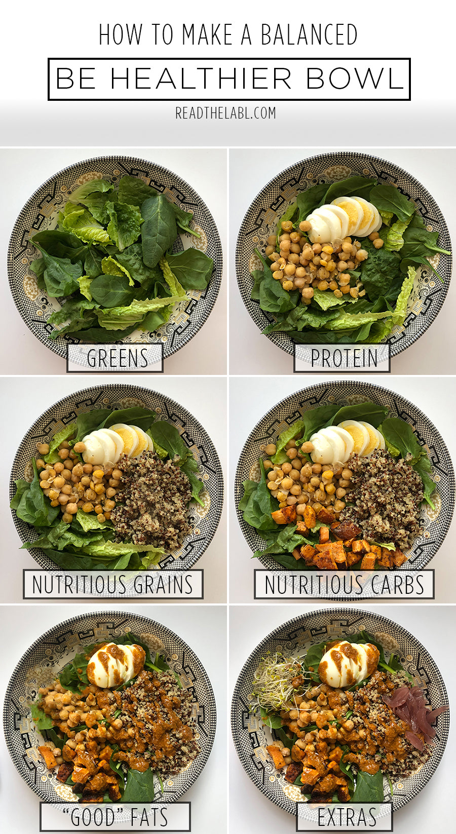 How To Build a Nutritious, Delicious, and Simple Be Healthier™ Bowl