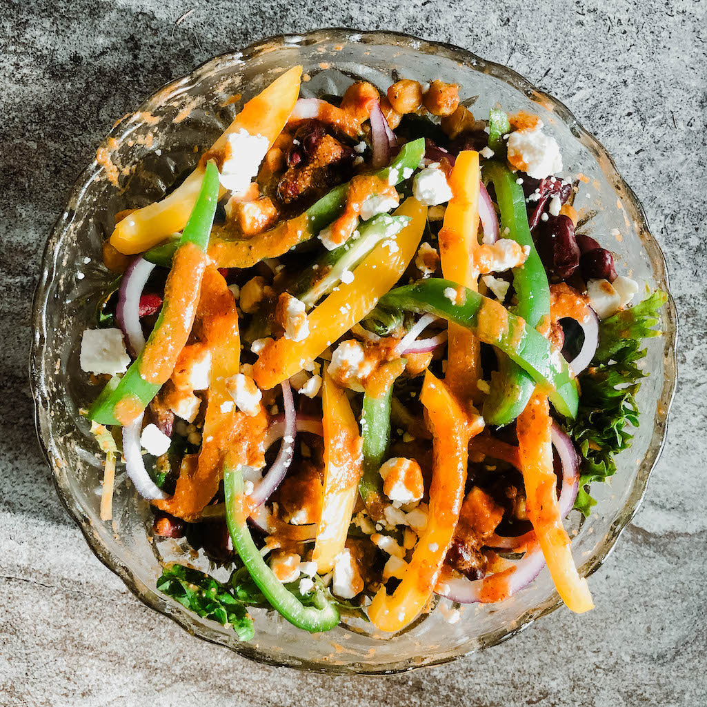 RECIPE: Veggie Soirée Vinaigrette Salad Dressing