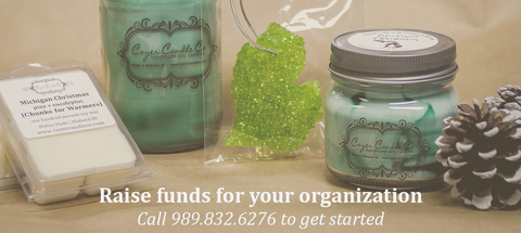 Coyer Candle Co. Winter Fundraising Program