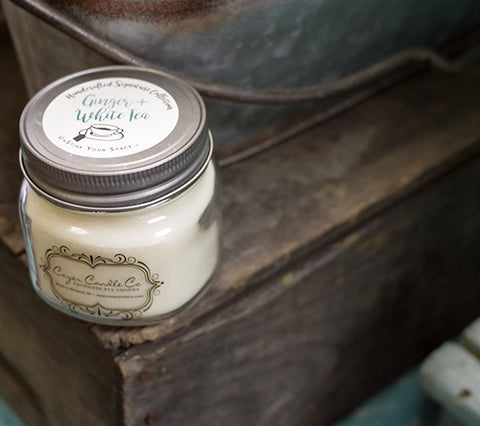 Coyer Candle Co. Soy Wax Mason Jar Candle