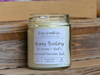 9 oz. Clear Jar Candle - S/S Handcrafted Birthday / Age