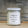 9 oz. Clear Jar Candle - Lucky Oliver Cat Edition