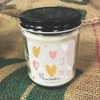 9 oz. Clear Jar Candle - Illustrated Valentine's Day Collection