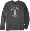 Man's Best Friends Unisex Long Sleeved Tee by Life is Good