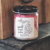 9 oz. Clear Jar Candle - S/S Botanical Collection
