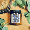 9 oz. Smoked Jar Candle - Blink if you Love | MI Bucket List