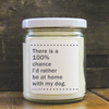 9 oz. Clear Jar Candle - Lucky Oliver Collection