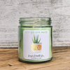 9 oz. Clear Jar Candle - Aloe Friend Collection