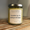 9 oz. Clear Jar Candle - S/S Parks and Rec