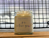 9 oz. Clear Jar Candle - S/S Love is Love is Love Collection