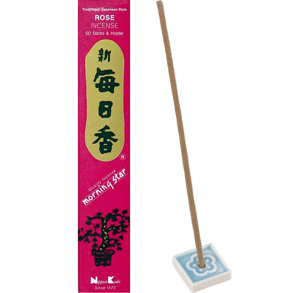 Morning Star Incense Rose