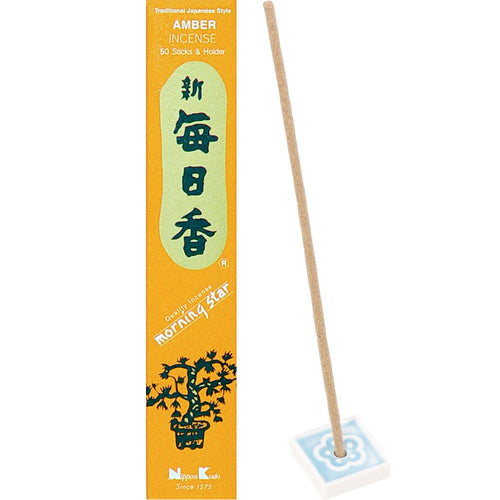 Morning Star Incense Amber