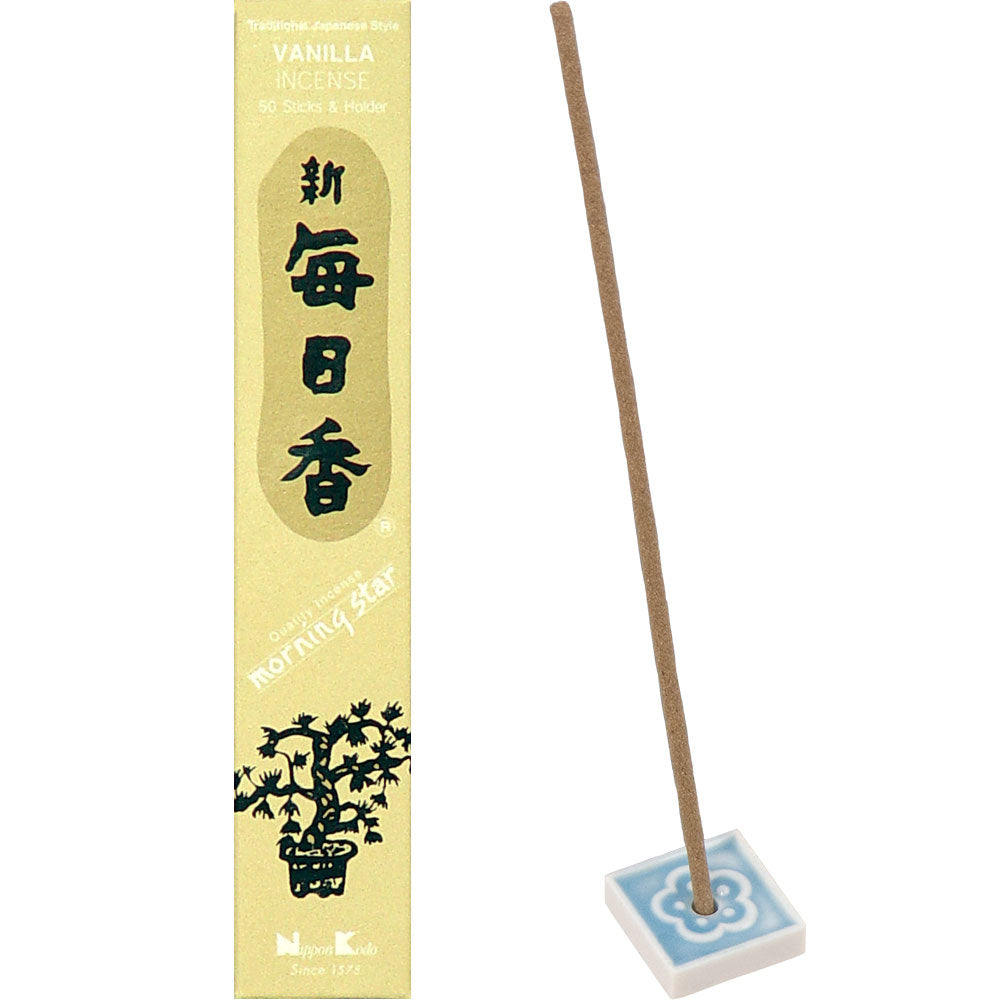 Morning Star Incense Vanilla