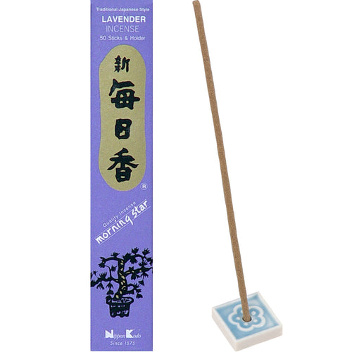 Morning Star Incense Lavender