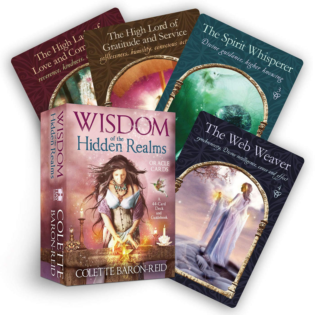 Wisdom of the Hidden Realms Oracle Boxed Kit