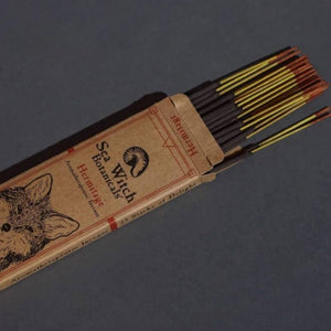 All-Natural Incense: Hermitage- With Patchouli & Pink Grapefruit Essential Oils