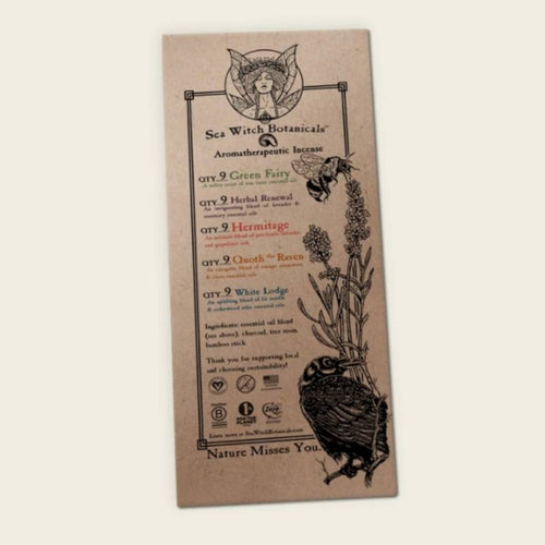 All-Natural Incense: Sample Set