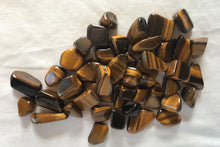Tiger's Eye Tumbled