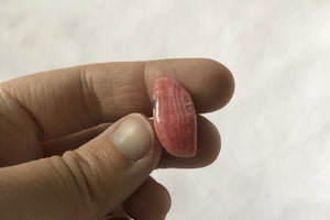 Rhodochrosite with Pyrite Tumbled