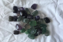 Fluorite Tumbled- Green and Purple