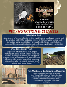 PET Nutrition & Cleanses