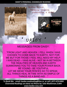 Channeled Message - DAISY