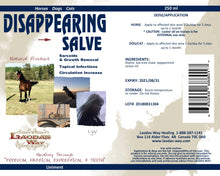DISAPPEARING SALVE