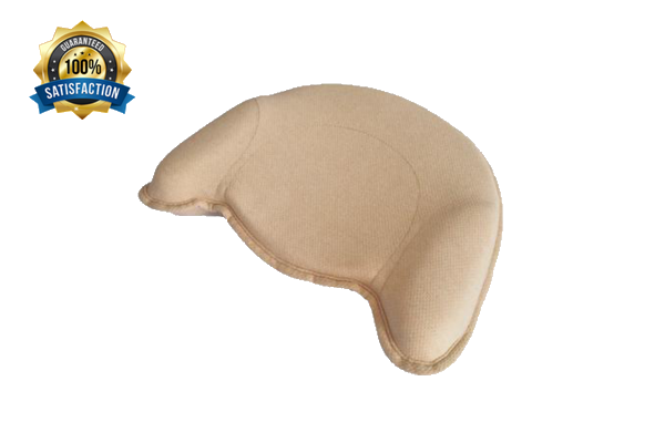 Organic Memory Foam Baby Pillow | Baby Head Shaping for Infant & Newborn | Prevents Flat Head Syndrome & Plagiocephaly |