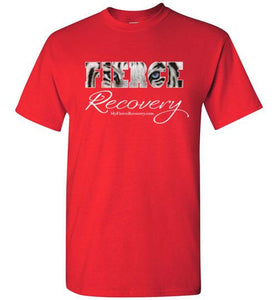FIERCE Recovery logo T-shirts (no lettering on back)