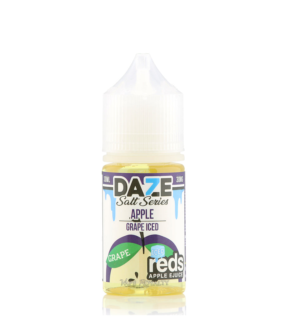 Grape ICED by Reds Apple Juice Salt Nic - 30ml