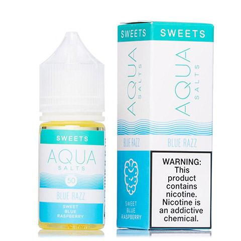 Blue Razz by AQUA Salt Nic - 30ml