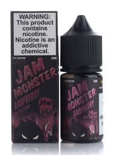 Raspberry By Jam Monster Salt Nic