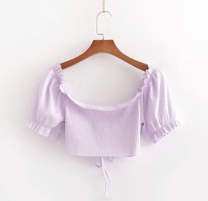 Taro Ruffled shirt