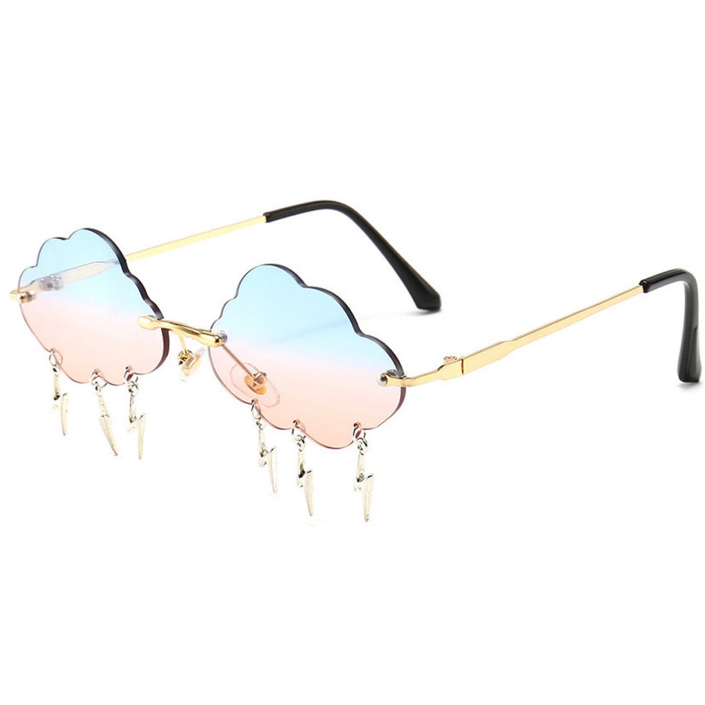 Cotten Candy Thunder Glasses