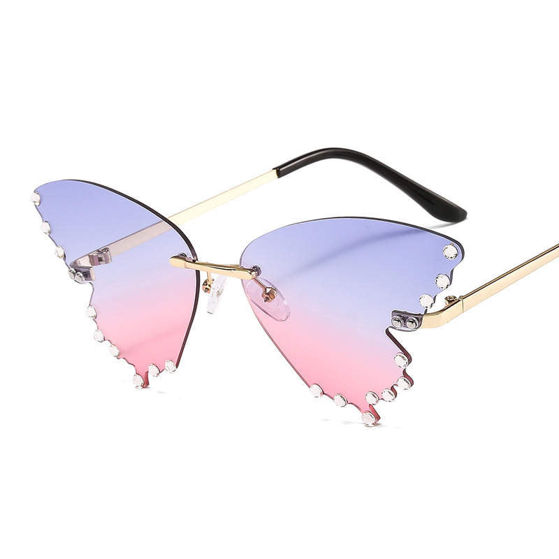 Pastel Lust Butterfly Glasses