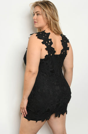 Catrina Black Plus Size Dress
