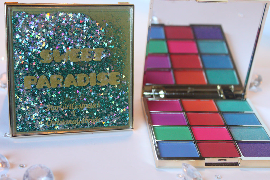 Sweet Paradise Eye Shadow Palette