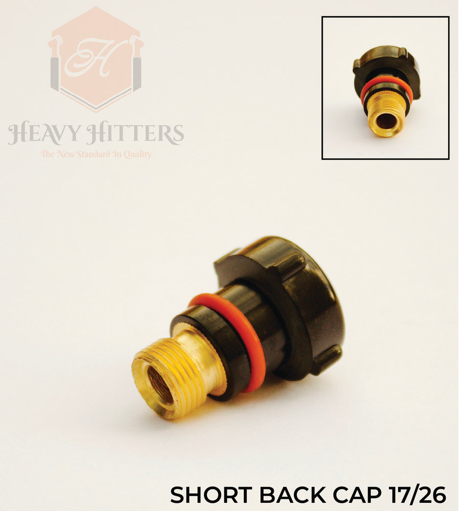 Short Back Cap for 17 & 26 Series Torches
