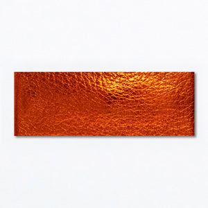 Snap Clip | Orange Spice Leather