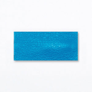 Snap Clip | Sky Blue Leather