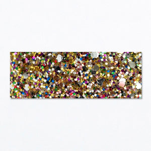 Snap Clip | Gold Multi Glitter