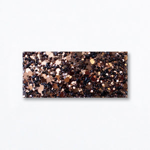 Snap Clip | Chocolate Brown Glitter