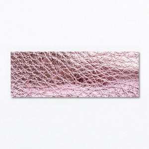 Snap Clip | Metallic Pink Leather