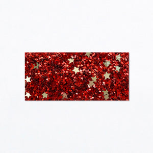 Snap Clip | Star Spangled Glitter